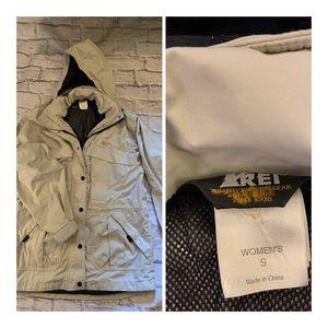 REI women's wind breaker jacket
